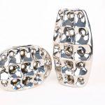 Modern Silver Vases (2)