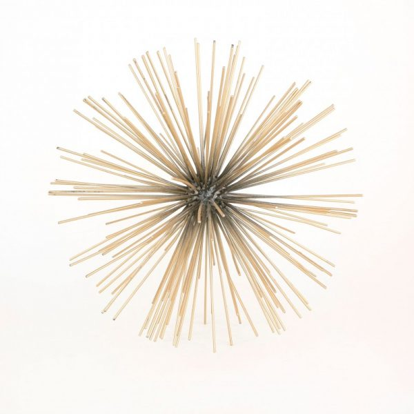Gold Spiked Sphere