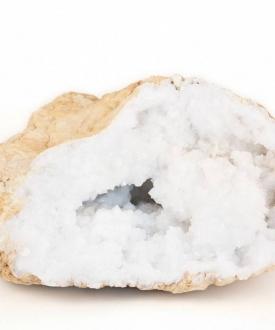 Natural Quartz Crystal Geode